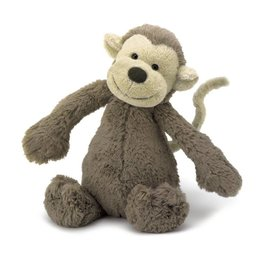 Jellycat Jellycat Bashful Monkey, Small