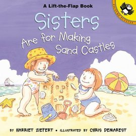 PenguinRandomHouse Sisters Are for Making Sand Castles Book