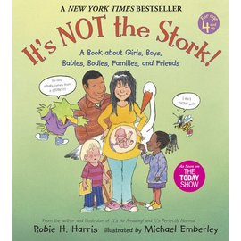 PenguinRandomHouse It's NOT the Stork! Book