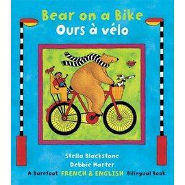 Barefoot Books Bear on a Bike / Ours à vélo