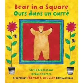 Barefoot Books Bear in a Square / Ours dans un carré