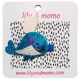 lily & momo Whale Tail Hair Clip