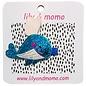 lily & momo Whale Tail Hair Clip