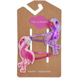 lily & momo Fancy Flamingo Hair Clip