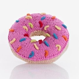 Pebble Pebble Handmade Donut Rattle