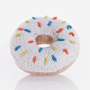 Pebble Pebble Handmade Donut Rattle