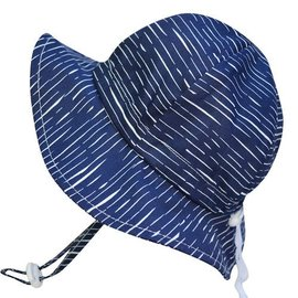 Twinklebell Grow-with-me Sunhat, Navy Waves