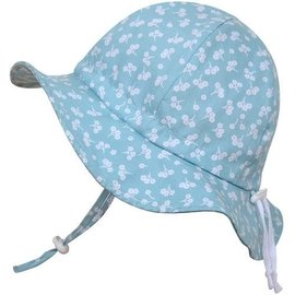 Twinklebell Grow-with-me Sunhat, Mint Flower