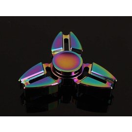 Rainbow Iridescent Fidget Spinner