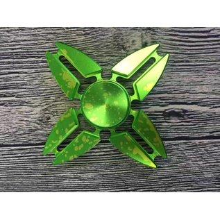 Four-Sided Aluminum Fidget Spinner