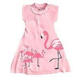 Wee Urban Wee Urban Flamingo Dress