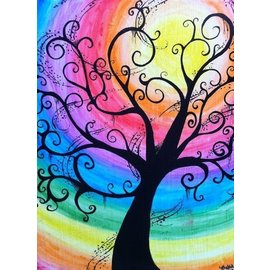 Jen Power Art Paint class for youth July 7 3:30pm