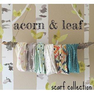 Acorn & Leaf Toddler Infinity Scarf