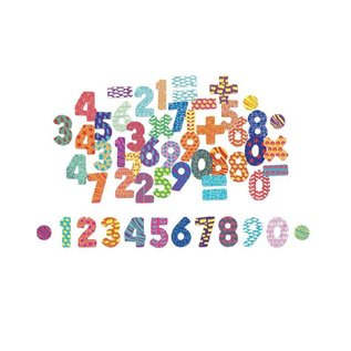 Vilac Wooden Number Magnets