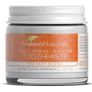 Nelson Naturals Nelson Naturals Colloidal Silver Toothpaste
