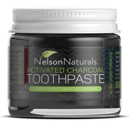 Nelson Naturals Nelson Naturals Activated Charcoal Toothpaste