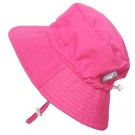 Twinklebell Grow-with-me Sunhat, Aqua Dry, Hot Pink