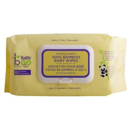 Baby Boo Bamboo Baby Boo Bamboo 100% Bamboo Baby Wipes- 80 Count