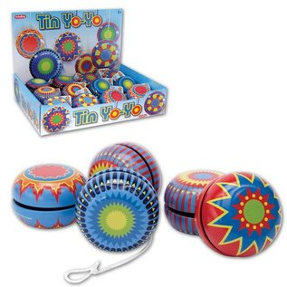 Schylling Tin Yo-yo- Assorted Colours