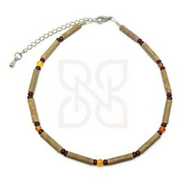 "Pure Hazelwood Pure Hazelwood Amber 9.5"" Anklet"