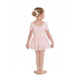 Sansha Sansha Leotard with attached skirt, pink