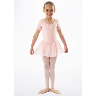 Sansha Sansha Leotard with attached skirt, pink
