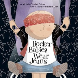 PenguinRandomHouse Rocker Babies Wear Jeans