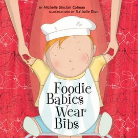 PenguinRandomHouse Foodie Babies Wear Bibs