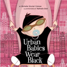 PenguinRandomHouse Urban Babies Wear Black