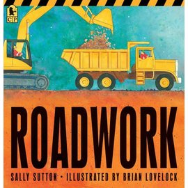 PenguinRandomHouse Roadwork Board Book
