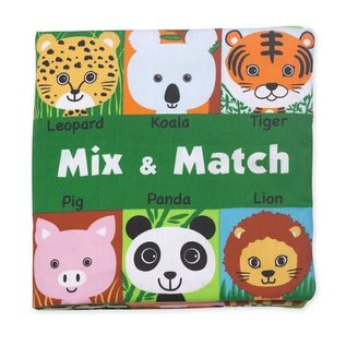 Melissa & Doug Soft Activity Book - Mix & Match
