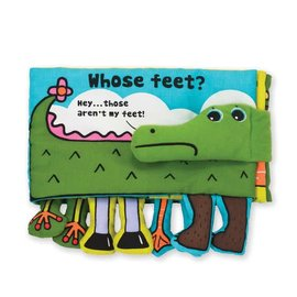 Melissa & Doug Soft Activity Book - Whose Feet?