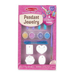 Melissa & Doug Decorate-Your-Own Pendant Jewelry