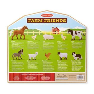 Melissa & Doug Farm Friends - 10 Collectible Farm Animals