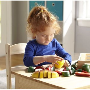 Melissa & Doug Cutting Food - Wooden Play Food
