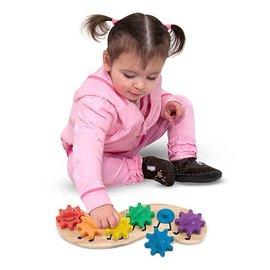 Melissa & Doug Caterpillar Gears Toddler Toy