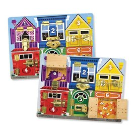 Melissa & Doug Coming Soon! Wooden Latches Board