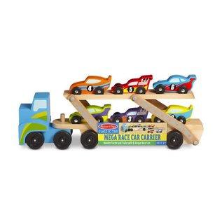 Melissa & Doug Mega Race Car Carrier