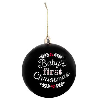 Pearhead Baby's First Christmas Ball