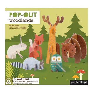 Petit Collage Pop-Out Woodland