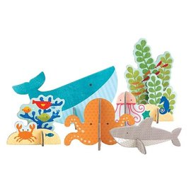 Petit Collage Pop-Out Ocean
