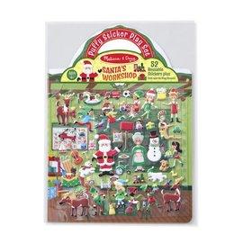 Melissa & Doug Reusable Puffy Stickers Santa's Workshop