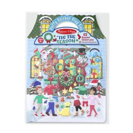 Melissa & Doug Reusable Puffy Stickers 'Tis the Season