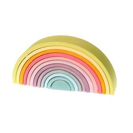 Grimms Grimms Large Pastel Rainbow - 12 Pieces