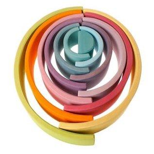 Grimms Grimms Large Pastel Rainbow - 12 Pieces