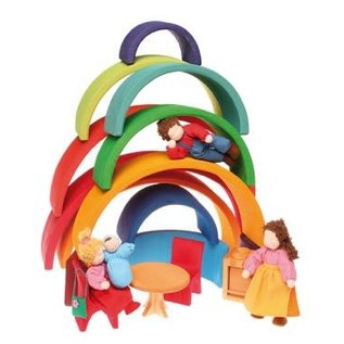 Grimms Grimms Large Primary Rainbow - 12 Pieces