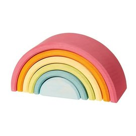 Grimms Grimms Medium Pastel Rainbow - 6 Pieces