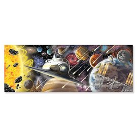 Melissa & Doug 200 Piece Floor Puzzle - Exploring Space