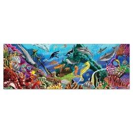 Melissa & Doug 200-Piece Floor Puzzle - Underwater Oasis
