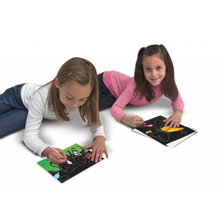 Melissa & Doug Color-Reveal Pictures - Butterflies & Flowers